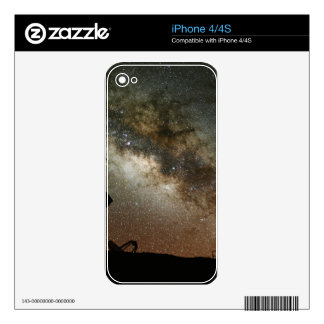 Radio Telescopes and Milky Way Skin For iPhone 4S