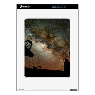 Radio Telescopes and Milky Way Skins For iPad