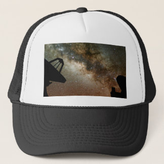 Radio Telescopes and Milky Way Trucker Hat