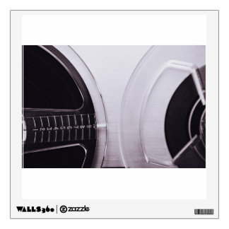 Radio Themed, Black And White Retro Radio Sounds C Wall Decal
