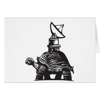 Radio Turtle Card