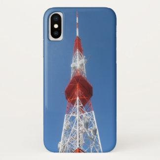 Radio TV Broadcast Tower iPhone X Case