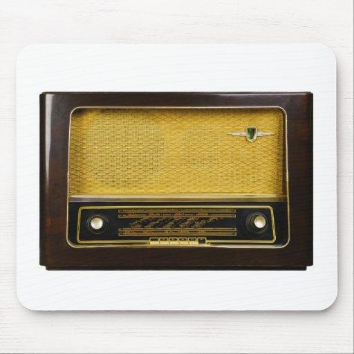 radio vieja alfombrillas de ratón