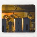radio vieja interior alfombrillas de ratones