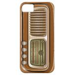 Radio vieja iPhone 5 Case-Mate carcasas