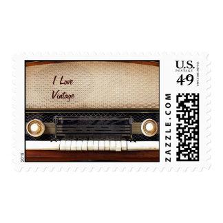 Radio vieja sellos