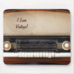 Radio vieja tapete de ratón