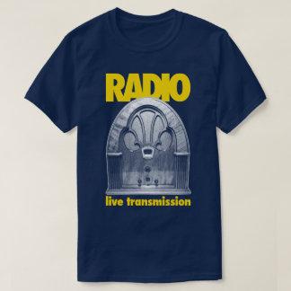 Radio Vintage Retro Live Test Transmission T-Shirt
