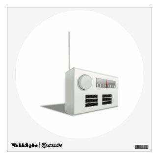 Radio Wall Decal