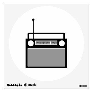 Radio Wall Sticker