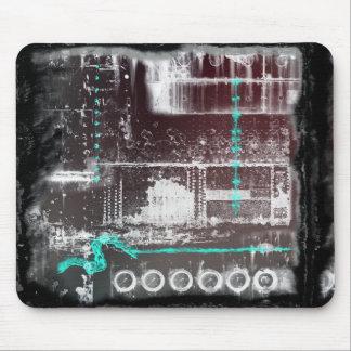 Radio Wave Gothic Grunge Mouse Pad