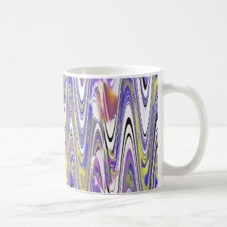 Radio Waves Classic White Coffee Mug