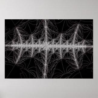 Radio Waves Poster