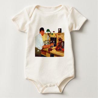 Radio Workbench Baby Bodysuit