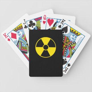 Radioactive 2 bicycle playing cards