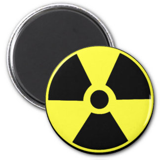 Radioactive 2 Inch Round Magnet