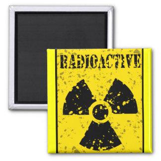 radioactive-4 RADIOACTIVE WARNING SYMBOL SIGN GRAP Magnet