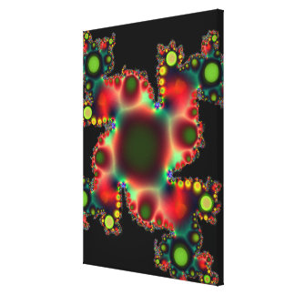 Radioactive Amoeba Canvas Print