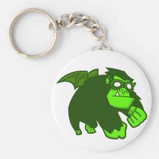 Radioactive Ape! Keychain