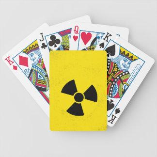 Radioactive Bicycle Playing Cards