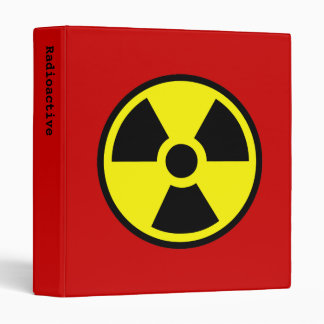 Radioactive Binder