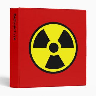 Radioactive Binder