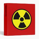Radioactive Binders