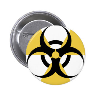 Radioactive Biohazard Pinback Button