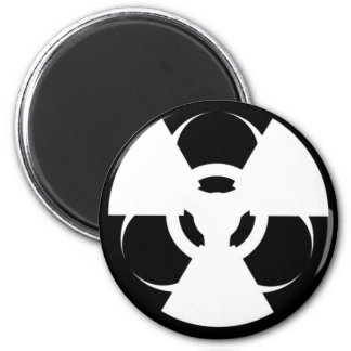 Radioactive Biohazard Symbol Magnet