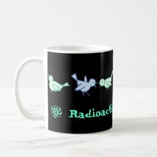 """RADIOACTIVE BLUEBIRDS"" Coffee Mug"