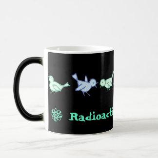 """RADIOACTIVE BLUEBIRDS"" Morphin' Coffee Mug"