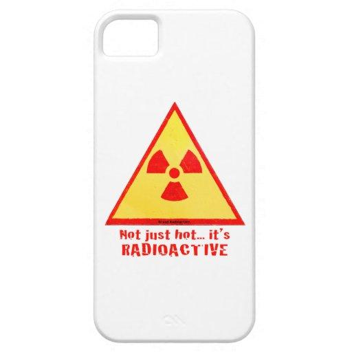 Radioactive Brand iPhone 5 Cases