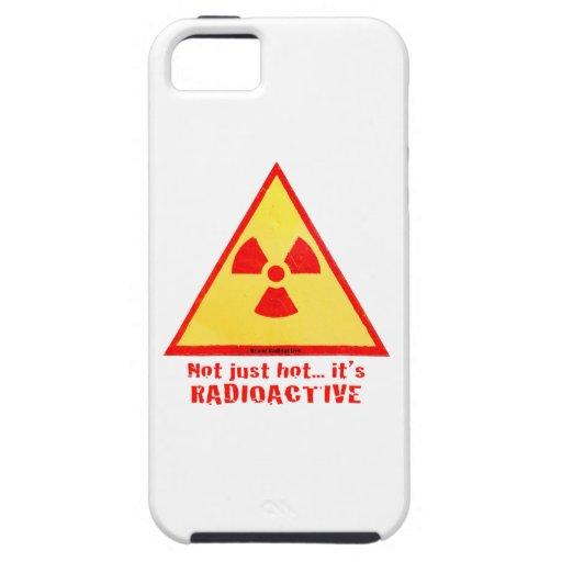 Radioactive Brand iPhone 5 Cover