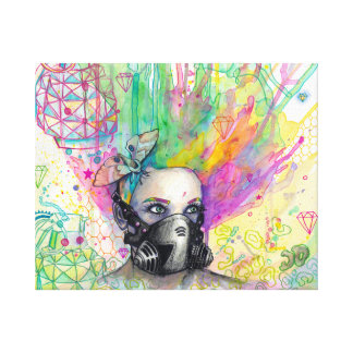 Radioactive Canvas Print