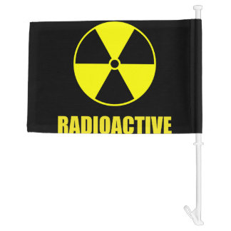 Radioactive Car Flag