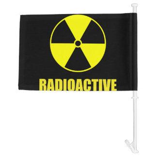 Radioactive Car Flag