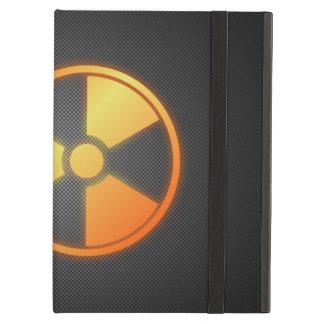 radioactive carbon fiber iPad air cover