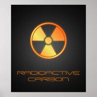 radioactive carbon fiber posters