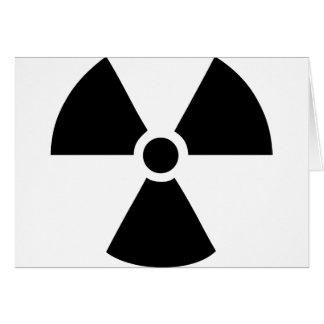 radioactive card