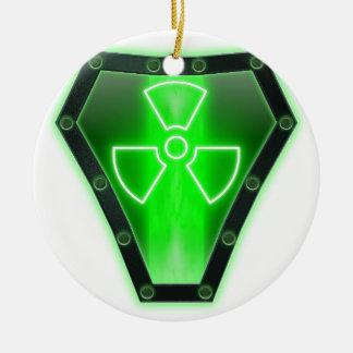 Radioactive Ceramic Ornament