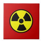 Radioactive Ceramic Tiles