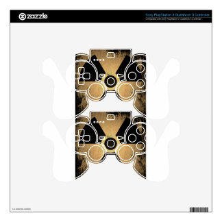 Radioactive danger PS3 controller decal