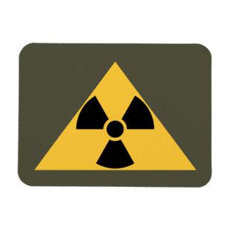 Radioactive Emblem Premium Magnet