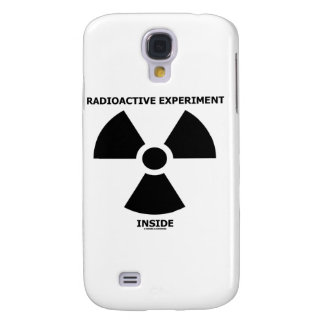 Radioactive Experiment Inside Trefoil Sign Samsung Galaxy S4 Cover