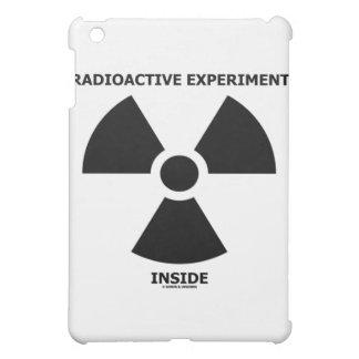 Radioactive Experiment Inside Trefoil Sign iPad Mini Cases