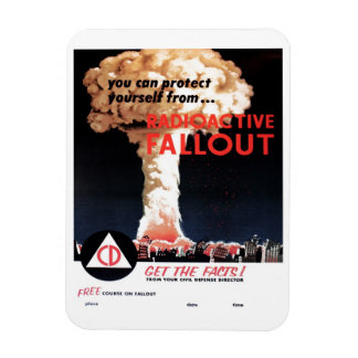 """Radioactive Fallout"" Magnet"