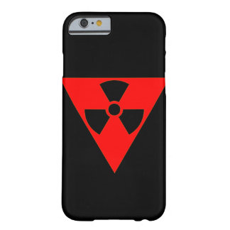 Radioactive Fire Symbol Barely There iPhone 6 Case