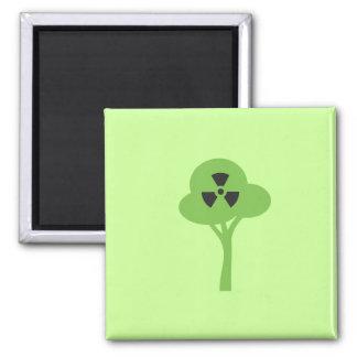 Radioactive Green Symbol Magnet