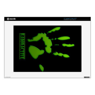Radioactive Hand Print Decals For Laptops