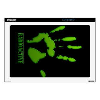 Radioactive Hand Print Skin For Laptop
